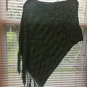 Half shoulder sweater/shawl